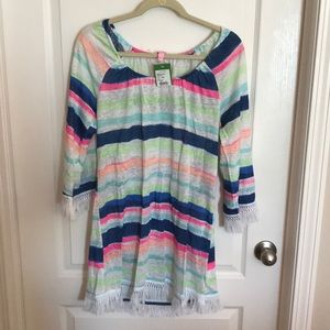 NWT-Lily Getaway Coverup Cats Meow Stripe